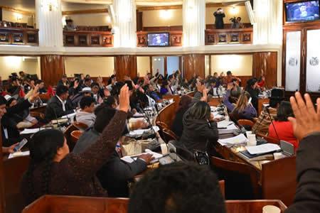 Diputados conforman su Comisión de Ética sólo con el bloque del MAS por disputas de opositores