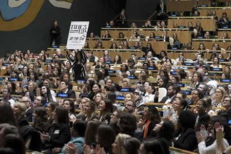 """Naciones Unidas clama por la igualdad de género: """"Ahora es el momento"""""""