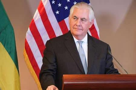 """Tillerson: EEUU está """"lejos"""" de abrir negociaciones con Corea del Norte"""