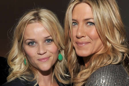 Jennifer Aniston y Reese Witherspoon protagonizarán una serie para Apple