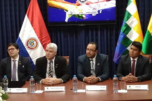 Paraguay ratifica respaldo al tren bioceánico por Bolivia debido a su potencial de integración