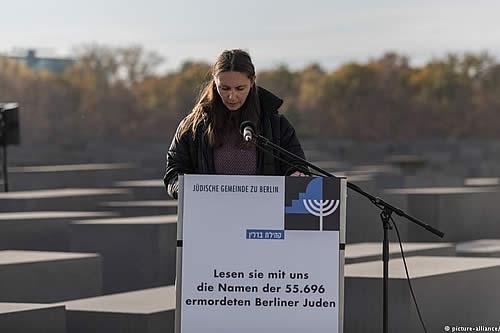 Berlín recuerda a víctimas del Holocausto