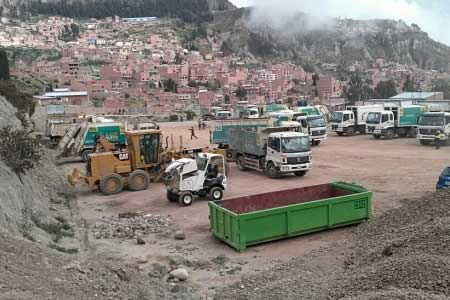 Silva: base de operaciones de 'La Paz Limpia' se caracteriza por la improvisación