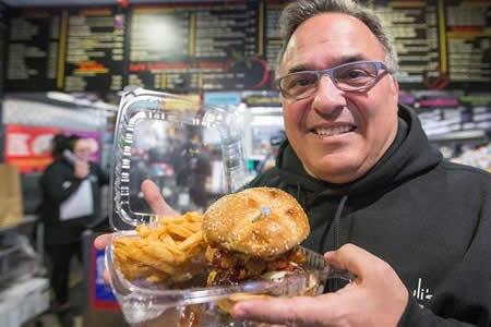 Una hamburguesa con anillo de compromiso para San Valentín por 3.000 dólares