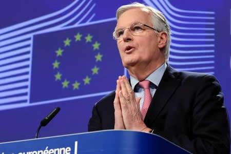 """Barnier dice que periodo de transición del """"brexit"""" no se puede dar por hecho"""