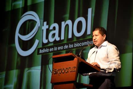 Sánchez: Proyecto de etanol generará inversión de $us 1.600 millones y 30.000 empleos
