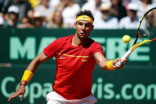 Nadal, Federer y Cilic continúan en el podio; Andújar escala 243 posiciones