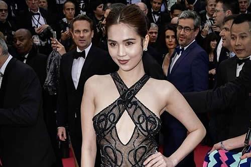 """Una modelo vietnamita podría ser castigada en su país por lucir un vestido """"impropio y ofensivo"""" en Cannes"""