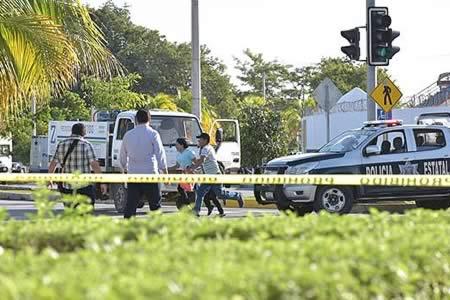Ataques agitan espectro de violencia criminal en zona turística mexicana