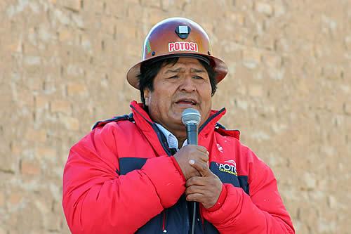 """Morales llama a la unidad de movimientos sociales ante la rearticulación de la """"megacoalición"""""""