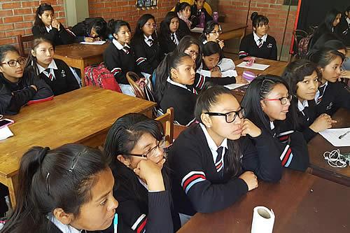 Labores escolares culminarán el 7 de diciembre en Oruro