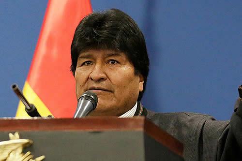 Evo denuncia golpe de Estado y pide cuidar la democracia y Constitución