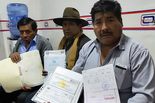 Persiste conflicto por 1.020 hectáreas en Oruro