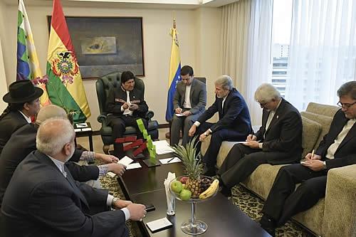 Bolivia e Irán coinciden en la necesidad de proteger su soberanía de la injerencia de EEUU