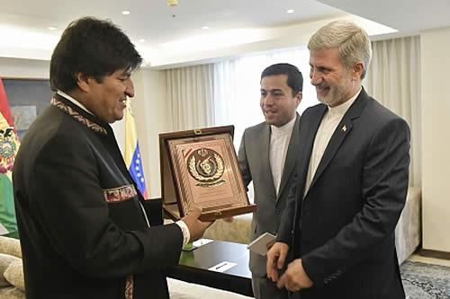 Irán comparte a Bolivia experiencia en producción de leche, nanotecnología e industria de drones