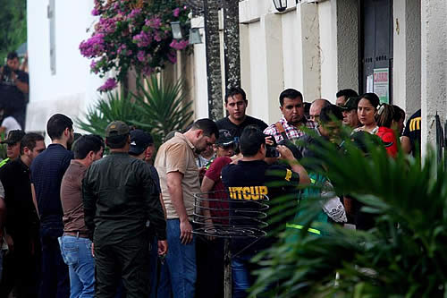 """Fuerte vigilancia en la reconstrucción del caso de """"La manada"""" boliviana"""