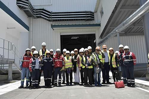 Comisión de la CIDH visita el salar y la planta de cloruro de potasio de Uyuni