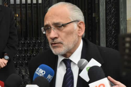 """Mesa dice que no se siente """"acusado"""" en caso Quiborax y anuncia campaña por respeto del 21F"""