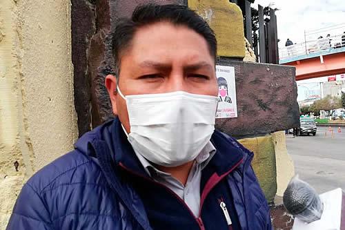 Concejal alteño del MAS plantea que Sergio Choque asuma la Presidencia del Estado, ante aislamiento de Añez y Copa