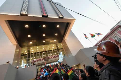 Presidencia atenderá solicitudes para visitar helipuerto y usar auditorio de Casa Grande del Pueblo
