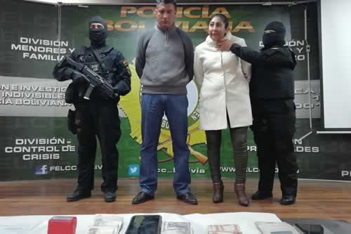Policía aprehende a una pareja que falsificaba registros de propiedad de DDRR