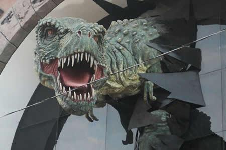 Toro Toro adopta a los dinosaurios como imagen turística