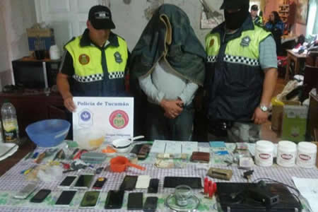 Investigan a una banda narco tucumana con nexos en Bolivia
