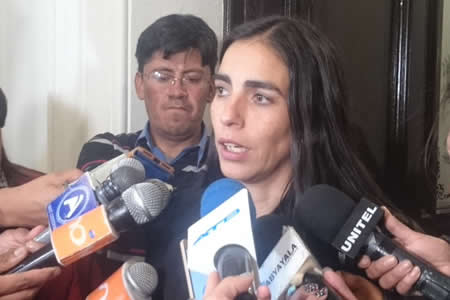 Diputada Montaño dice que no permitirán retrocesos del TCP