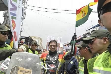 'El Chavo' Salvatierra el mejor boliviano ubicado en el Dakar: acabó en el puesto 11