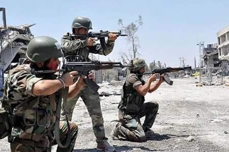 El Ejército sirio cerca el valle del río Barada, que nutre de agua a Damasco