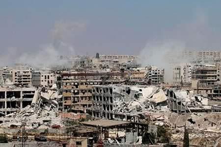 """Unesco: El 30 % de la ciudad vieja de Alepo está """"completamente destruido"""""""