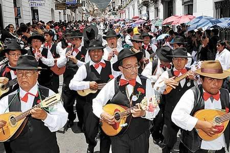 Carnaval de Antaño será una de las principales actividades en Sucre