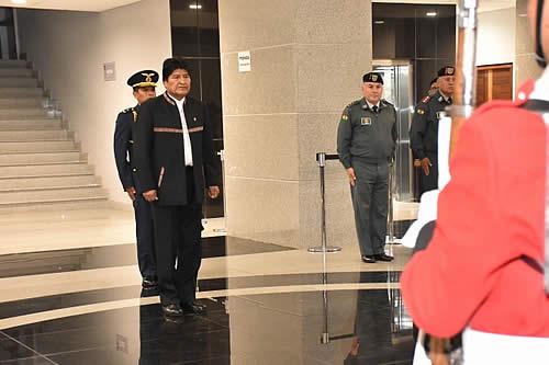 Presidente instruye anular exámenes de admisión a la Anapol y tomar nuevas pruebas con supervisión externa