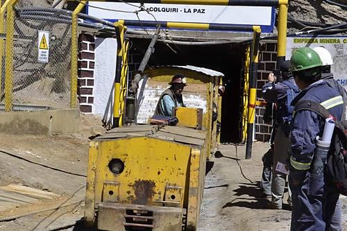 Bolivia marcó récord histórico en producción minera en 2018