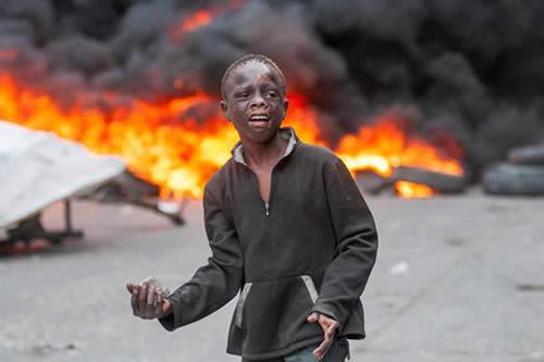 La tensión persiste en Haití en quinto día de protestas contra el Gobierno