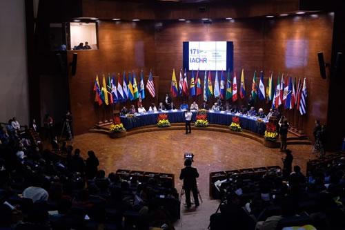 Inauguran 171 Período de Sesiones de la CIDH en Sucre