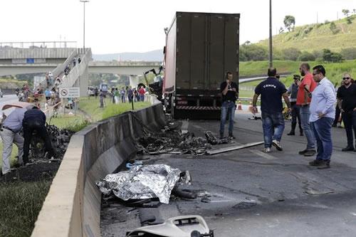 Reconocido periodista brasileño, entre víctimas de accidente de helicóptero