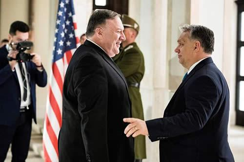 EEUU busca recuperar su presencia en Europa Central frente a Rusia y China