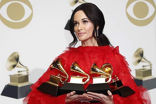 Kacey Musgraves reina en Grammys históricos para Cardi B y Childish Gambino