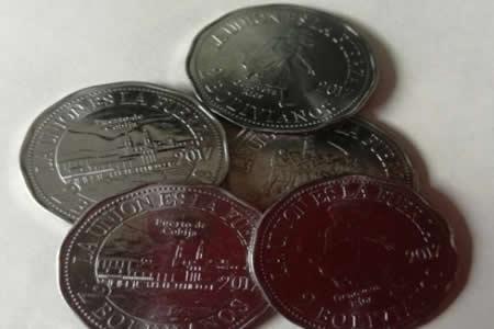 BCB procesará a vendedores de monedas alusivas al mar