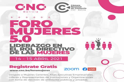 CNC-Bolivia organiza foro para promover el liderazgo de las mujeres