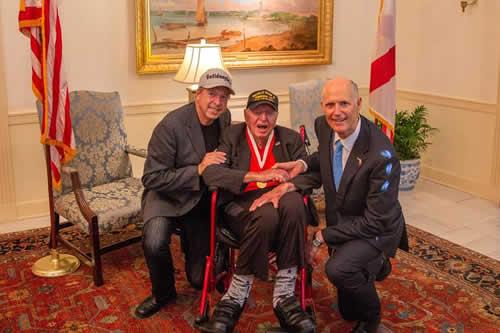 Veterano de 99 años quiere visitar 50 estados de EE.UU. antes de cumplir 100