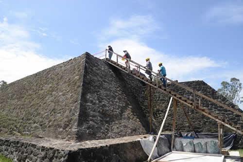 El templo prehispánico oculto en el centro de México revelado por terremoto