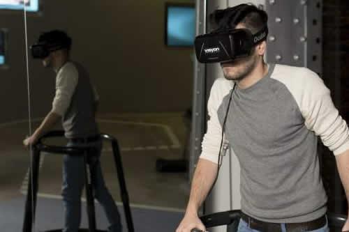 Una terapia basada en una realidad virtual reduce el miedo a las alturas