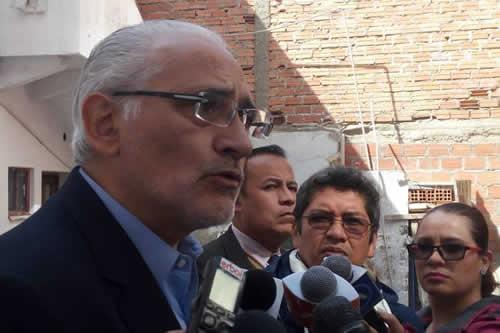 Mesa dice que los verdaderos responsables del caso Quiborax le quieren cargar la culpa
