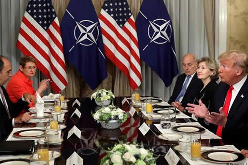 Trump insiste en exigencia de elevar gasto militar al 4% del PIB
