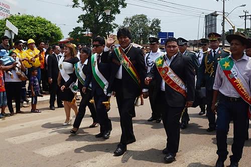 Presidente conmemora 116 años de la Batalla de Bahía y ratifica compromiso con el desarrollo de Pando