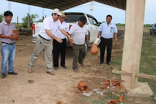 Empiezan obra de la sede de Anapo en Cuatro Cañadas