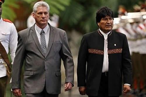 Morales saluda a Díaz-Canel por unirse a Twitter y fortalecer la lucha contra el imperialismo
