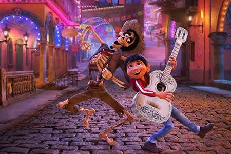 """""""Coco"""", nominada como mejor película de animación en los Globos de Oro"""